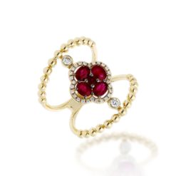 Ruby RingStyle #: ROY-C7717R