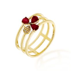 Ruby Ring<br>Style #: ROY-C7782RB