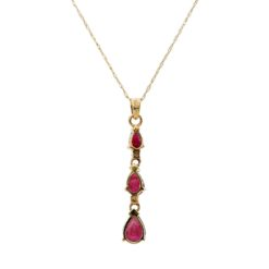 Ruby NecklaceStyle #: ROY-PR3821RB