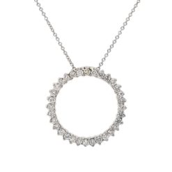 Diamond NecklaceStyle #: PD-LQ3187P