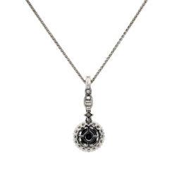 Black Diamond NecklaceStyle #: PD-LQ6347P