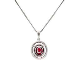 Ruby NecklaceStyle #: PD-LQ8595N