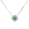 Emerald NecklaceStyle #: PD-JLQ336N