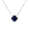 Sapphire NecklaceStyle #: PD-LQ3665N