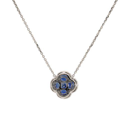 Sapphire NecklaceStyle #: PD-LQ3665N