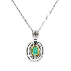 Emerald NecklaceStyle #: PD-LQ7682P