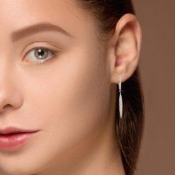 Diamond Earrings<br>Style #: MK-856026