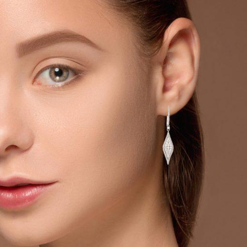 Diamond EarringsStyle #: MK-859169