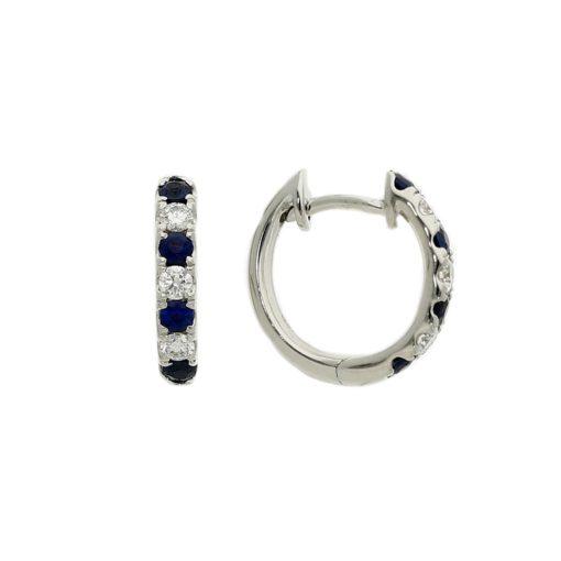 Hoops Sapphire  EarringsStyle #: PD-LQ10552E