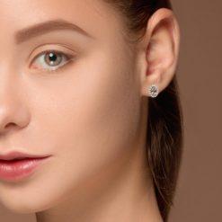Stud  Morganite  EarringsStyle #: PD-LQ10556E