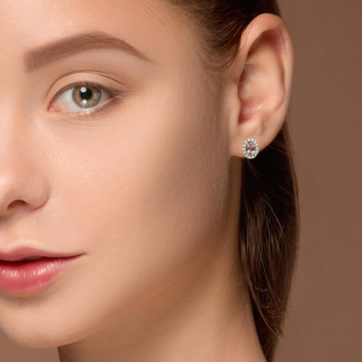 Morganite EarringsStyle #: PD-LQ10556E