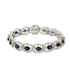Sapphire  Bracelet Style #: PD-LQ2986BR