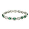 Emerald Bracelet Style #: PD-LQ3619BR