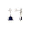 Dangle Sapphire EarringsStyle #: PD-LQ9043E