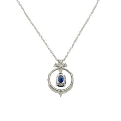 Sapphire  NecklaceStyle #: PD-LQ9072P