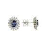 Studs Sapphire  EarringsStyle #: PRINS-45163