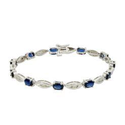 Sapphire  Bracelet Style #: ROY-WC635SP