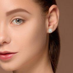 Diamond Earrings<br>Style #: ROY-WC9707D