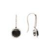 Dangle Black Diamond EarringsStyle #: WLI-J11979FJE