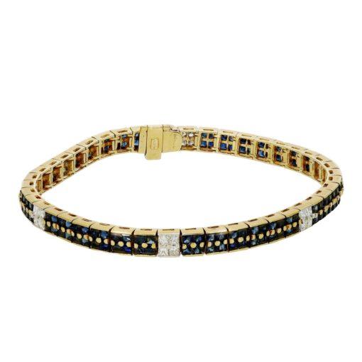 Sapphire  Bracelet Style #: MH-BRAC-SAP-02
