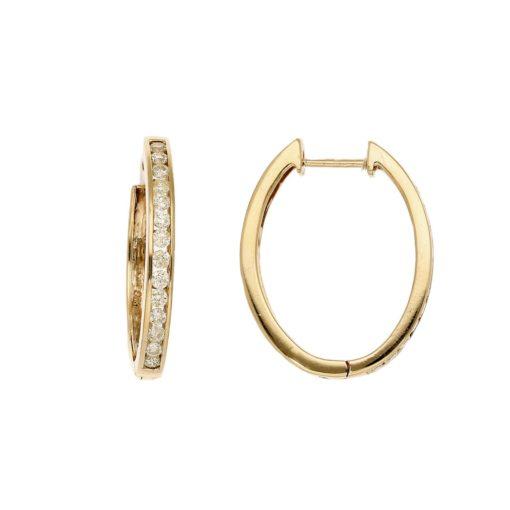 Diamond EarringsStyle #: MH-EAR-921-20