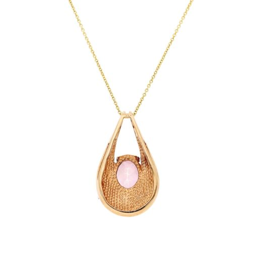 Necklace  Pink Sapphire  NecklaceStyle #: MH-PEN-PSAP-01
