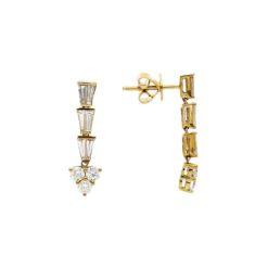 Diamond Earrings<br>Style #: PD-LQ10654E