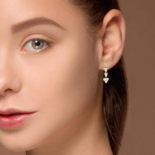 Diamond EarringsStyle #: PD-LQ10654E