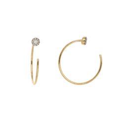 Diamond Earrings<br>Style #: ROY-C9563D
