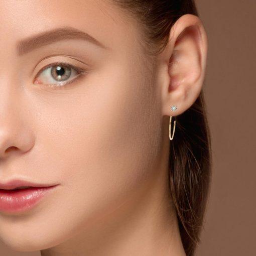 Diamond EarringsStyle #: ROY-C9563D
