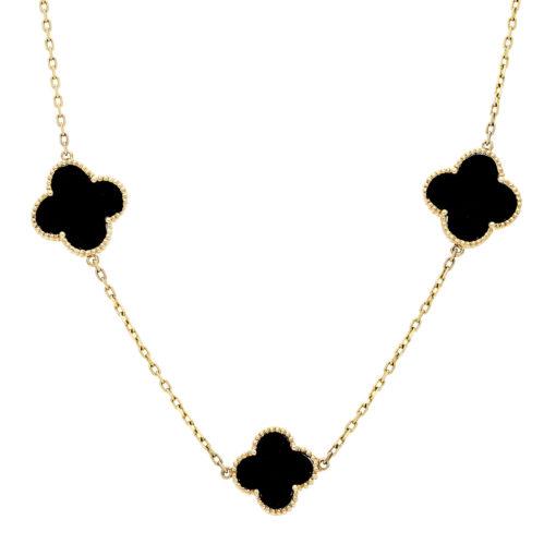 Onyx Necklace Style #: WLI-J13184FJN
