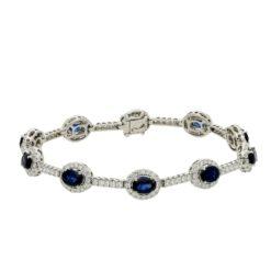 Sapphire  Bracelet Style #: PD-LQ4028BR