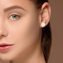 Diamond  Earrings <br>Style #: IM-20-056-13