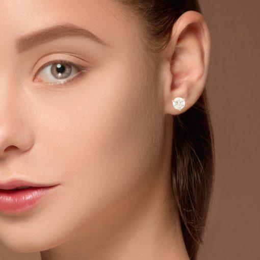 Diamond  Earrings Style #: PP3274-04-03-03