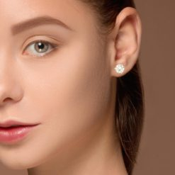 Diamond  Earrings Style #: PP3274-04-03-04