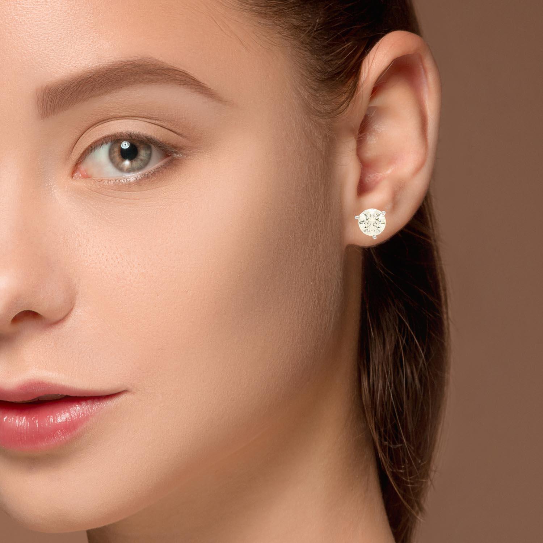 Diamond  Earrings Style #: PP3274-04-03-05