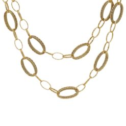 Gold NecklaceStyle #: PD-G138N