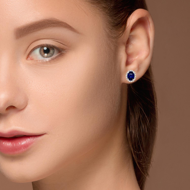 Sapphire EarringsStyle #: PD-LQ10527E