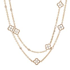 Diamond NecklaceStyle #: PD-LQ2523N