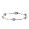 Sapphire BraceletStyle #: PD-LQ2664BR