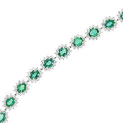 Emerald BraceletStyle #: PD-LQ2716BR