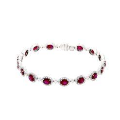 Ruby BraceletStyle #: PD-LQ3519BR