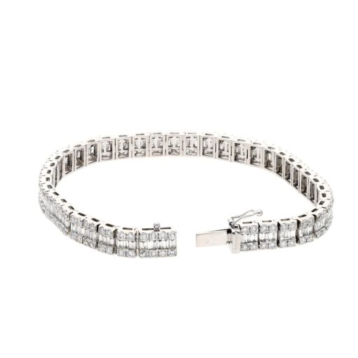 Baguette Diamond BraceletStyle #: PD-LQ3556BR