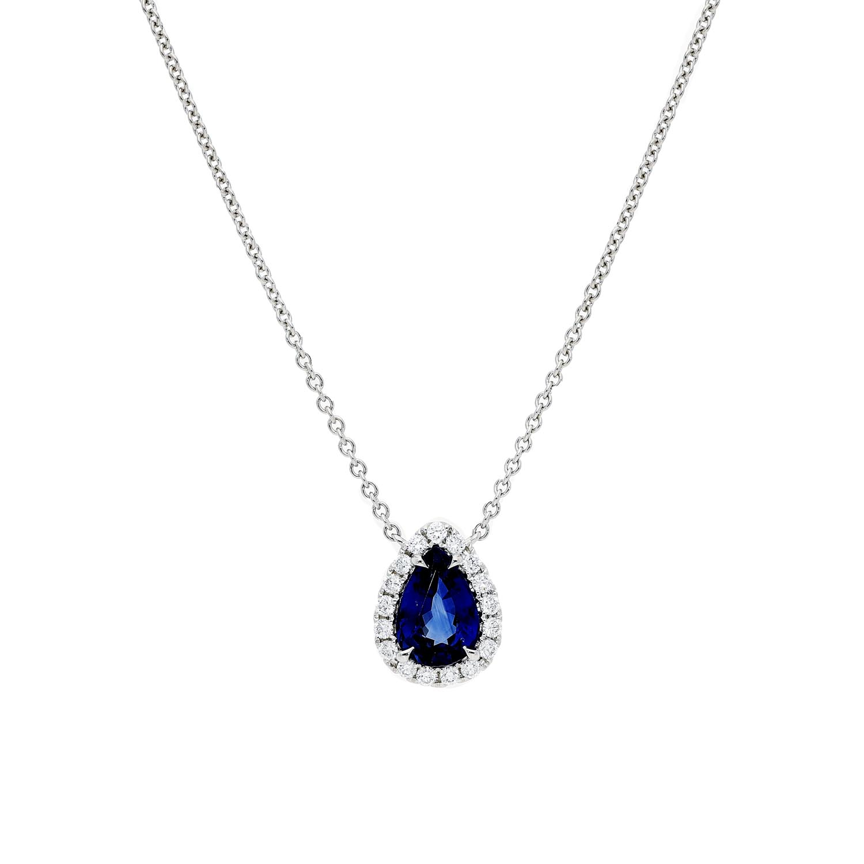 Sapphire NecklaceStyle #: PD-LQ3575N
