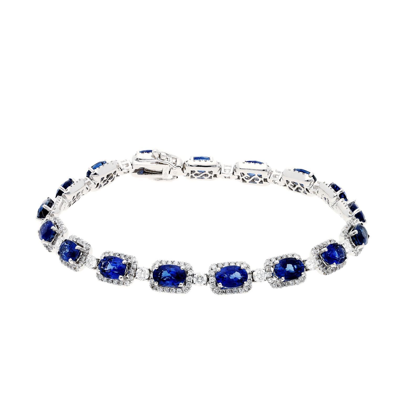 Sapphire BraceletStyle #: PD-LQ3638BR