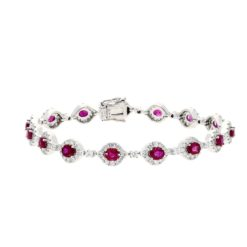 Ruby BraceletStyle #: PD-LQ4110BR