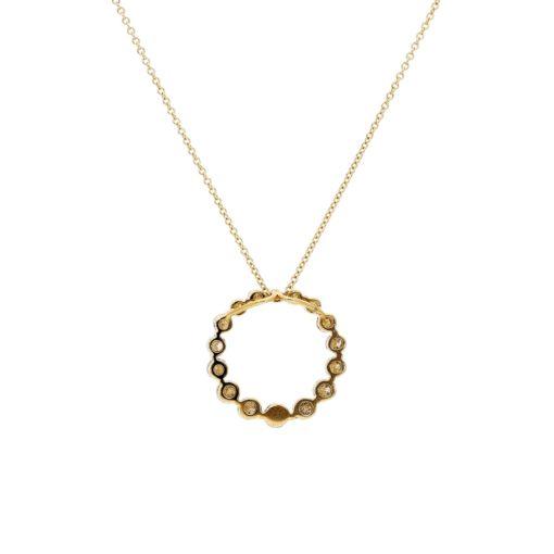 Diamond NecklaceStyle #: PD-LQ4161N