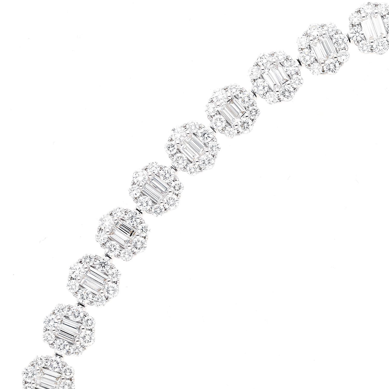 Baguette Diamond BraceletStyle #: PD-LQ4228BR