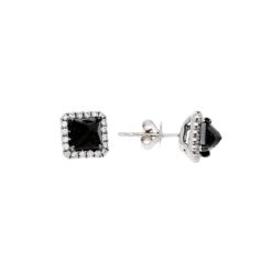 Black Diamond EarringsStyle #: PD-LQ8714E