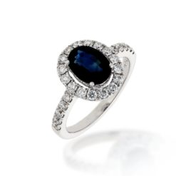 Sapphire Ring<br>Style #: PD-LQ10694L